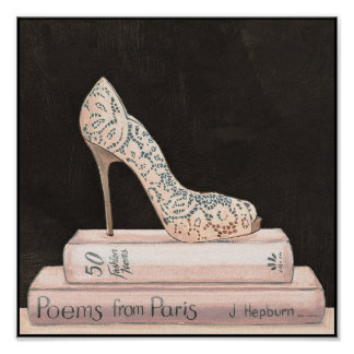 Wild Apple | Elegant High Heel Fashion Poster