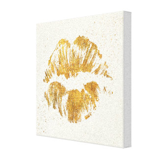 Wild Apple | Elegant Stylish Kiss Canvas Print