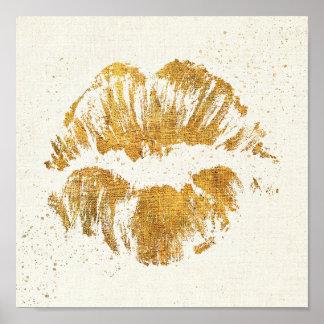 Wild Apple | Elegant Stylish Kiss Poster