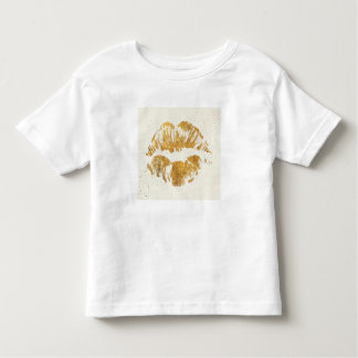 Wild Apple | Elegant Stylish Kiss Toddler T-Shirt