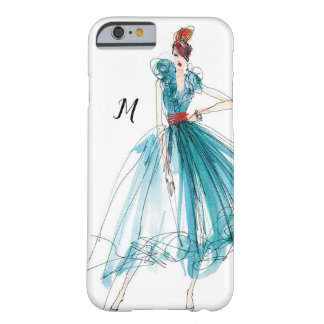 Wild Apple | Haute Couture Fashion Sketch Barely There iPhone 6 Case