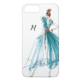 Wild Apple | Haute Couture Fashion Sketch iPhone 8 Plus/7 Plus Case