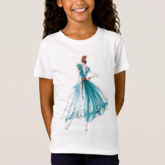 Wild Apple | Haute Couture Fashion Sketch T-Shirt