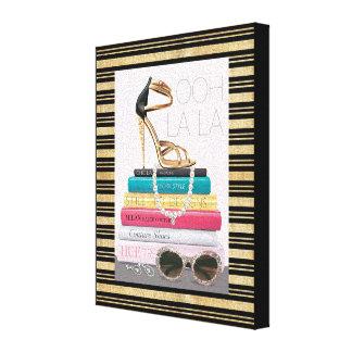 Wild Apple | Ooh La La - Glamorous Stiletto Canvas Print