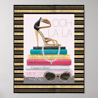 Wild Apple | Ooh La La - Glamorous Stiletto Poster