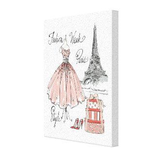 Wild Apple | Paris Fashion Week Style Canvas Print