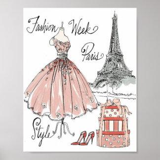 Wild Apple | Paris Fashion Week Style Poster