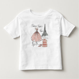Wild Apple | Paris Fashion Week Style Toddler T-Shirt