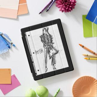 Wild Apple | Posh - Edgy Vintage Sketch iPad Cover