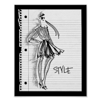 Wild Apple | Style Icon - Modern Sketch Poster