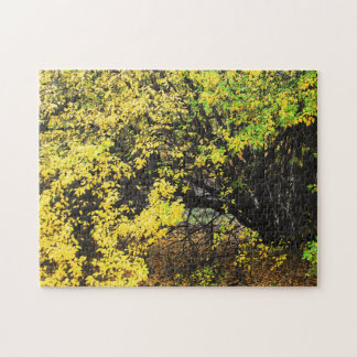 Wild Apple Tree Autumn Jigsaw Puzzle