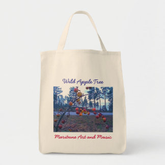 Wild Apple Tree Tote Bag