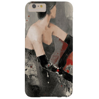 Wild Apple | Vintage Watercolor Woman Barely There iPhone 6 Plus Case