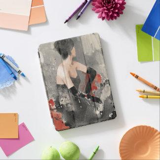 Wild Apple | Vintage Watercolor Woman iPad Air Cover