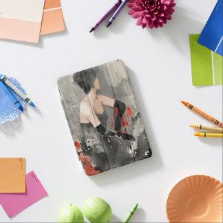 Wild Apple | Vintage Watercolor Woman iPad Mini Cover