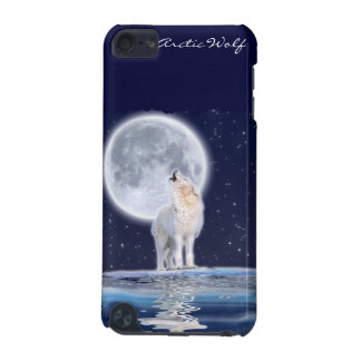 Wild Arctic Wolf Wildlife-Supporter Ipod Case