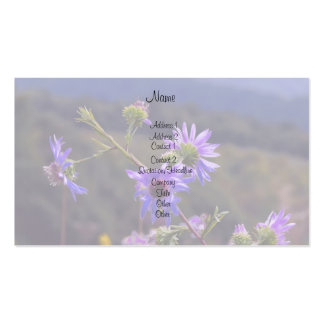 Wild Asters Business Card