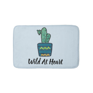 Wild At heart Bath mats