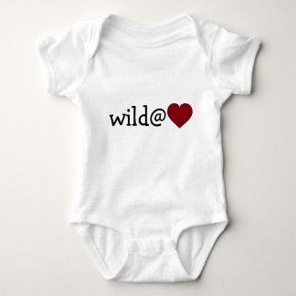 Wild at heart crimson heart shirts