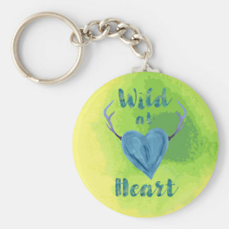 Wild at Heart Keychain