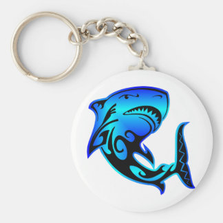 Wild Azz Shark #002 Key Ring