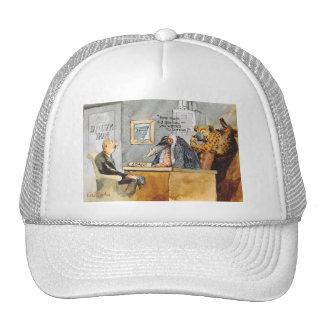Wild bank cap