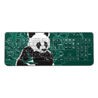 WILD BEAR LIFE  Custom Wireless Keyboard