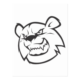 Wild Bear Postcard