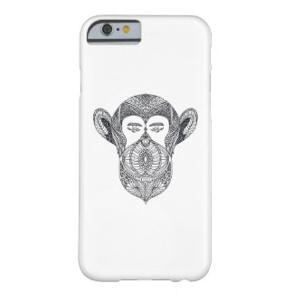 Wild Beast Of The Forest Doodle Barely There iPhone 6 Case