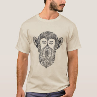 Wild Beast Of The Forest Doodle T-Shirt