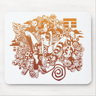 WILD BEAUTY MOUSE MAT