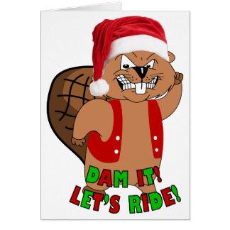 Wild-Beavers Christmas Cards