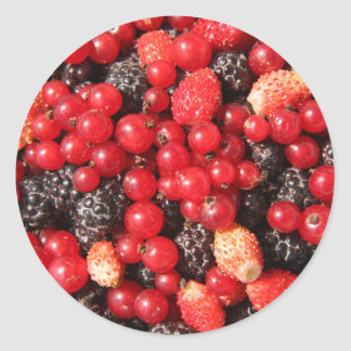 wild berries stickers
