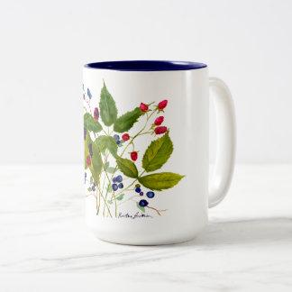 wild berry coffee mug