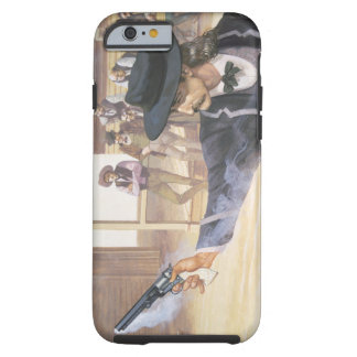 'Wild Bill' Hickok (1837-76) demonstrates his mark Tough iPhone 6 Case