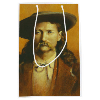Wild Bill Hickok Gift Bag Medium Gift Bag