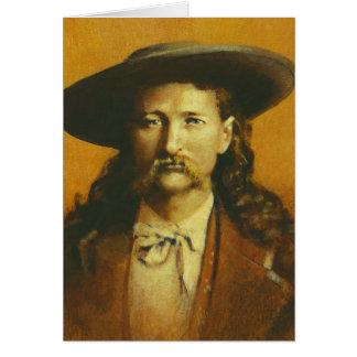 Wild Bill Hickok Greetings Card