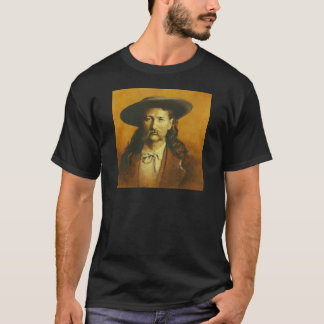 Wild Bill Hickok Illustration T-Shirt
