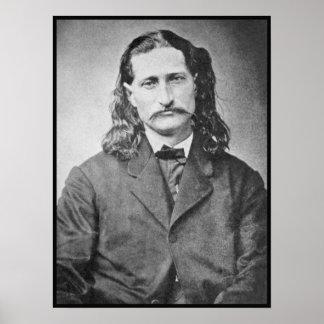 Wild Bill Hickok Lawmen Old West Vintage Photo Poster