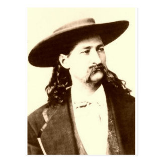 WILD BILL HICKOK POSTCARD