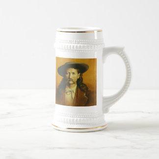 Wild Bill Hickok Stein Beer Steins