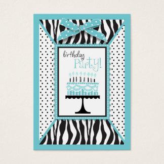 Wild Birthday Cake EB Reminder Card