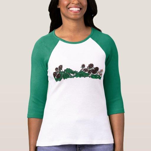 Wild blackberry strip (no caption). tshirt