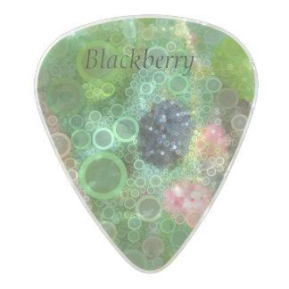 Wild Blackberry Summer Guitar Pick