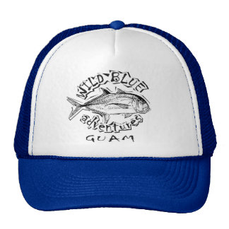Wild blue GT cap Hat