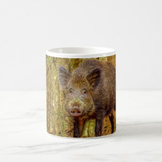 Wild Boar Coffee Mug