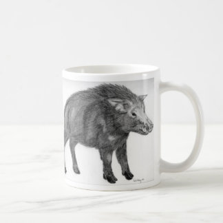 Wild Boar, Defensive Stance Coffee Mug