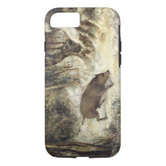 Wild Boar in the Snow, signed as Courbet (fake) iPhone 8/7 Case