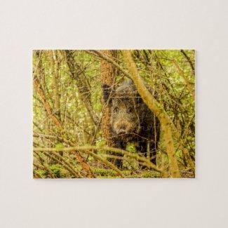 Wild Boar Jigsaw Puzzle