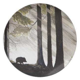 Wild Boar Party Plates